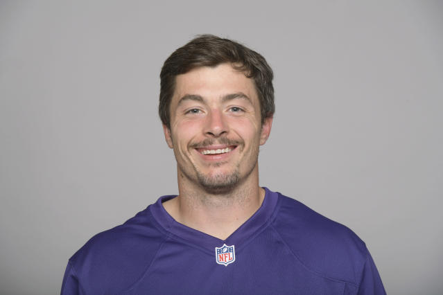 File-This is 2017, file photo shows Danny Woodhead of the Baltimore Ravens NFL football team. Woodhead has announced his retirement from the NFL after 10 seasons. Woodhead, who played with Baltimore last season, wrote in an Instagram post early Saturday that it is time for him to leave the game he loves. The 5-foot-8 Woodhead was a two-time Harlon Hill Trophy winner at Chadron State in Nebraska as the top player in NCAA Division II. Despite his college success, he went undrafted in 2008 and signed with the New York Jets as a free agent. (AP Photo/File)
