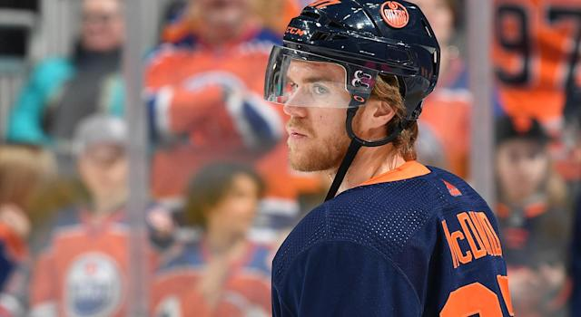 The Edmonton Oilers could be in real trouble without Connor McDavid. (Andy Devlin/NHLI via Getty Images)