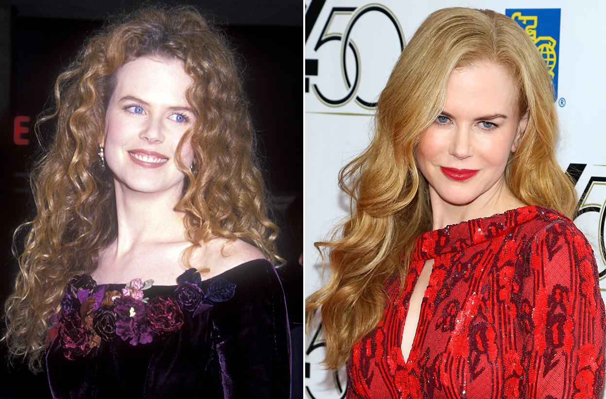 "No one can knock Nicole Kidman's untamed curls. But this year's ""Hemingway & Gellhorn"" nominee knows how to really work the hair now."