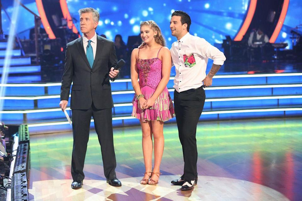 "<p><em>Dancing with the Stars </em>has never disclosed an age limit and the <a href=""https://www.youtube.com/watch?v=Yn9XnTheG5I"" rel=""nofollow noopener"" target=""_blank"" data-ylk=""slk:youngest contestant"" class=""link rapid-noclick-resp"">youngest contestant</a> to ever compete was a 14 year old Willow Shields. ABC also produced a spin-off show, <em>Dancing With the Stars: Juniors,</em> for child stars and children of celebrities. </p>"