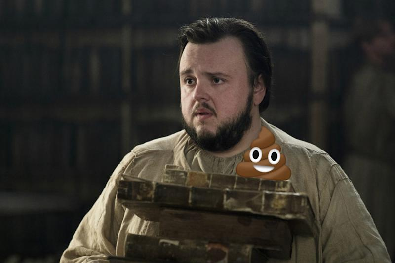 """We've finally found the grossest thing on """"Game of Thrones,"""" and it's Sam's new job"""