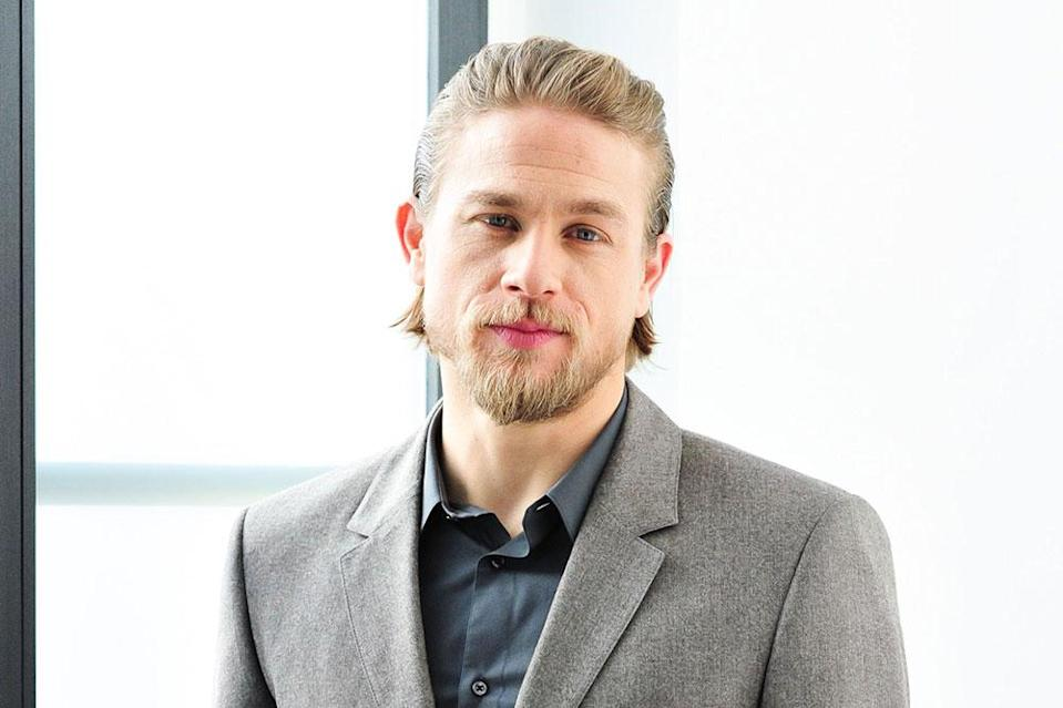 Charlie Hunnam Thanks to Craig, we know a blonde Bond isn't an issue anymore; however, the Newcastle-born 'Sons of Anarchy' star is currently shooting another iconic British character as the lead in Guy Ritchie's King Arthur film which is planned as a franchise-starter. With that and 'Pacific Rim 2' ahead, he might be a little too busy.