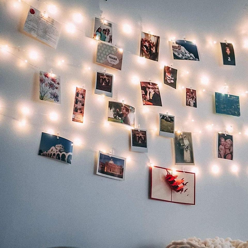 These Twinkly Photo Clip Lights Are on Sale For Amazon Prime Day, So You Know What to Do!