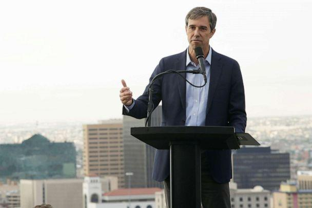 PHOTO: Democratic 2020 U.S. presidential candidate Beto O'Rourke addresses the nation in El Paso, Texas, August 15, 2019. (Jose Luis Gonzalez/Reuters)