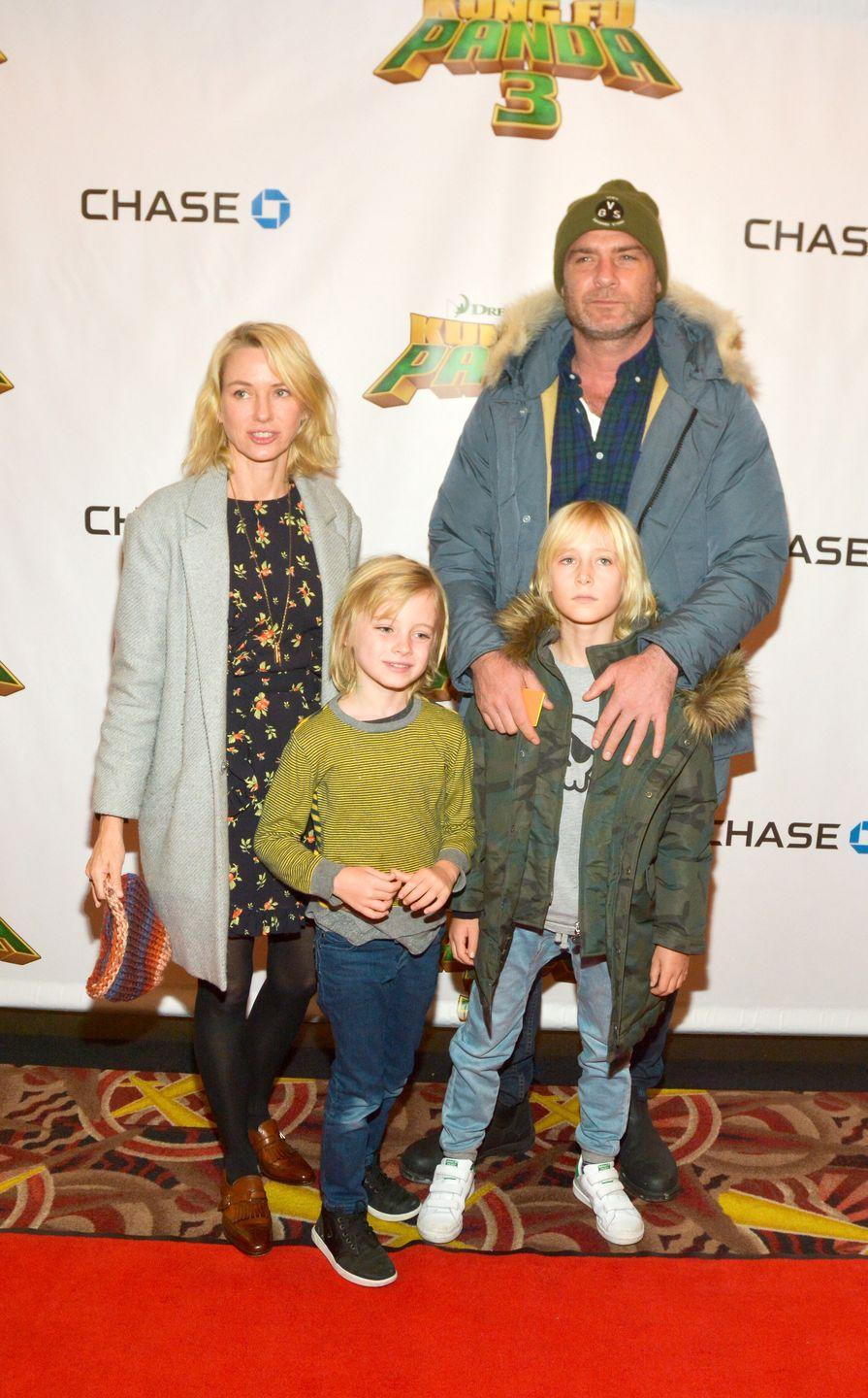 <p>Naomi Watts and Liev Schrieber are the proud parents to three children together: Sasha, Kai, and Samual. Although the couple is now divorced, they haven chosen to raise their family in New York City and are regularly seen together on co-parenting outings. </p>