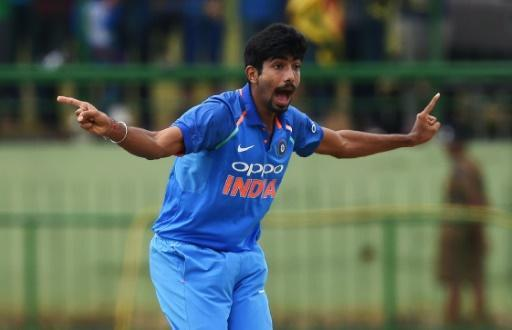 India bowler Bumrah helps restrict Sri Lanka to 217-9