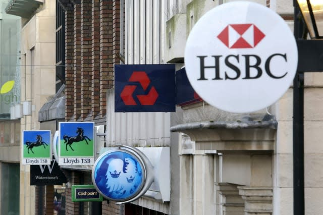 British High Street Banks As Libor Charges Mount