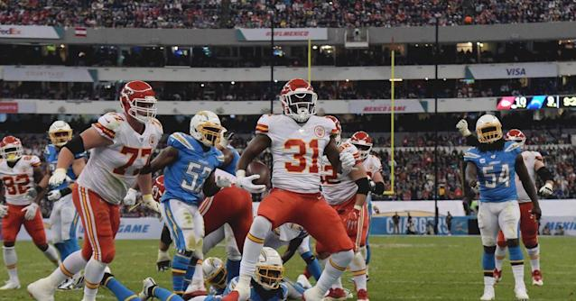 Chargers-Chiefs final score: Los Angeles Chargers lose to the Kansas City Chiefs 24-17