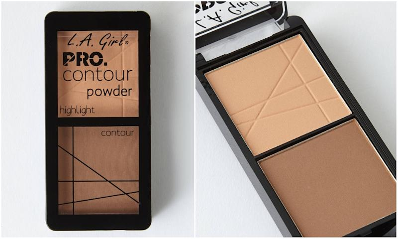 L.A. GIRL PRO.CONTOUR POWDER HIGHLIGHT AND CONTOUR DUO