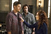 """<p><b>What's Coming Up:</b> <i>Supernatural</i> is riding the wave of a killer Season 11, followed by some major cliffhangers at the season finale. <b>Where We Left Off:</b> Sam was kidnapped by the British Men of Letters chapter and was hauled off to England like a less-violent version of <i>Taken</i>. Mary Winchester rose from the dead, seemingly alive – and it's up to Dean to get Sam back and figure out life with mother, 33 years after her death. <b>Coming Up: </b>According to showrunner Andrew Dabb, both of these ideas have been in the writer's room a while: """"We thought of emotional triggers you can put on the guys [Sam and Dean]. Mary was always one of those, but we wanted to wait to bring her back at the right time. She's always been a core part of our show. The British Men of Letters, we thought that was interesting as a counterpoint to Sam and Dean, who are better at their jobs but maybe not as noble as they think."""" <b>Runnin' With the Devil: </b> Lucifer, still shopping for the right meat suit, finds himself inhabiting a washed-up rock 'n' roll god played by Rick Springfield, who will star in a multiple-episode arc. """"There are not many rock stars who can also act,"""" says Dabb. """"Our casting people came to us to say that it was a long shot, but we might be able to get him, since Springfield was recently on <i>True Detective</i> and <i>Ricki and the Flash</i> with Meryl Streep. We were really fortunate that he accepted."""" <i> – KS</i> (Credit: Katie Yu/The CW)</p>"""