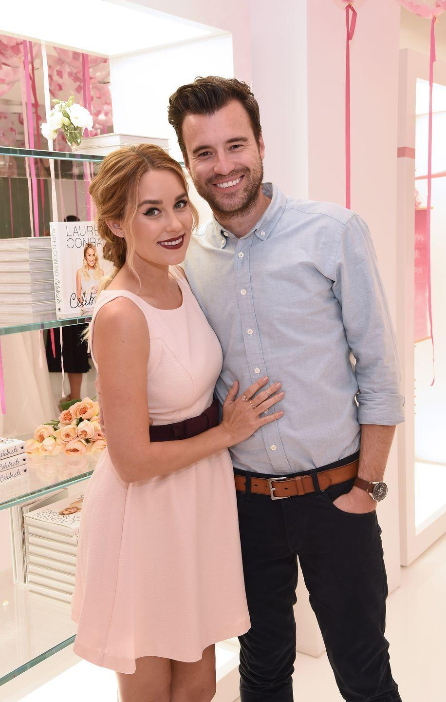 "<p>Lauren and William were set up on a blind date for Valentine's Day in 2012. ""I met my husband when I was 16 and sitting onstage at one of his concerts. Ten years later we were set up on a blind date,"" <a href=""https://laurenconrad.com/blog/2016/08/ask-lauren-25-things-you-didnt-know-about-me/"" rel=""nofollow noopener"" target=""_blank"" data-ylk=""slk:she wrote on her blog"" class=""link rapid-noclick-resp"">she wrote on her blog</a>. </p>"