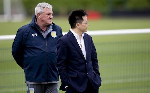 "Aston Villa are set for talks with the Football League next week as fears grow over the Championship club's finances. Shaun Harvey, the EFL's chief executive, is scheduled to meet with Villa officials in a bid to discover the club's future plans following failure to win promotion to the Premier League. Villa have been struggling with financial difficulties due to the cash-flow issues of Chinese owner Dr Tony Xia, with the club also being sued for constructive dismissal by former chief executive Keith Wyness. Last month Xia was late paying a tax bill and with the club already under huge pressure to fall in line with Financial Fair Play rules, the EFL has contacted Villa to set up a meeting. It is understood Harvey will request a broad business plan for next season and proof the club can fulfil its financial obligations. Villa are aiming to slash their wage bill and bring it down to around £30m and held a board meeting on Tuesday as they mapped out their summer strategy. Chairman Dr Tony Xia (right) and Aston Villa are in worrying times Credit: Getty Images Steve Bruce, the manager, was not present at the meeting, but it is understood the financial ramifications for staying in the Championship were relayed to technical director Steve Round. Xia remains reluctant to sell up, yet there are fears he will have to cash in on at least two top players, such as Jack Grealish and James Chester. Villa have confirmed the departure of Wyness, who has launched legal action against the club. Wyness is suing for constructive dismissal in a claim which could cost Villa up to £6m, as revealed by Telegraph Sport. Villa's statement read: ""Aston Villa Football Club can confirm that Keith Wyness has now left the club. The club notes the media speculation relating to Keith's departure and prospective legal proceedings. ""The club will be happy to defend legal proceedings if called on to do so and does not propose to comment further at this time."" Meanwhile, Villa defender Alan Hutton is in talks with Nottingham Forest. Hutton, the former Scotland international, will be a free agent next month and has been offered a two-year deal by Forest manager Aitor Karanka."