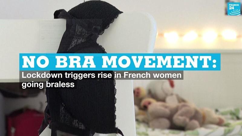 Bras off: Lockdown triggers rise in French women going braless