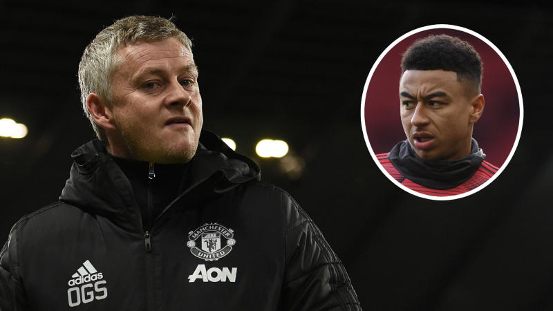'One more time and you're f*cking off!' - Solskjaer explains Lingard Manchester derby exchange