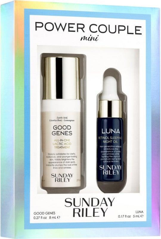 """<h3>Sunday Riley Power Couple Mini Kit<br></h3><br><strong>Date: </strong>March 22<br><strong>Also On Sale:</strong> <a href=""""https://www.ulta.com/4-in-1-love-your-selfie-longwear-foundation-concealer?productId=pimprod2005671&_requestid=627694#locklink"""" rel=""""nofollow noopener"""" target=""""_blank"""" data-ylk=""""slk:PUR Love Your Selfie Foundation"""" class=""""link rapid-noclick-resp"""">PUR Love Your Selfie Foundation</a> <br><br><strong>Sunday Riley</strong> Power Couple Mini Kit, $, available at <a href=""""https://go.skimresources.com/?id=30283X879131&url=https%3A%2F%2Fwww.ulta.com%2Fpower-couple-mini-kit%3FproductId%3Dpimprod2011583%26sku%3D2557960%26_requestid%3D675203%23locklink"""" rel=""""nofollow noopener"""" target=""""_blank"""" data-ylk=""""slk:Ulta Beauty"""" class=""""link rapid-noclick-resp"""">Ulta Beauty</a>"""