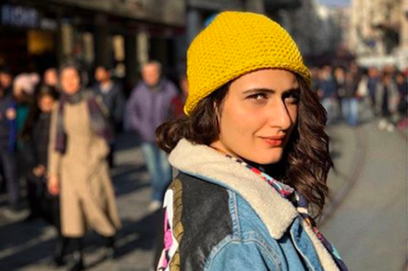 Fatima Sana Shaikh Blocks, Hits Back at Troll Who Asked her to Cover her Body