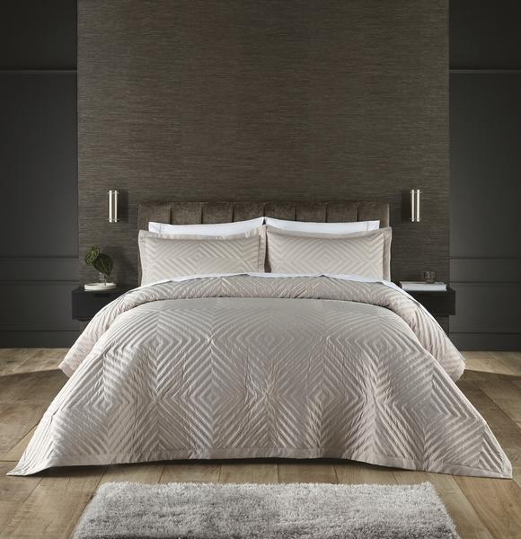 The quilt cover set ($59.99) comes in three colours including cream (pictured). Photo: supplied.