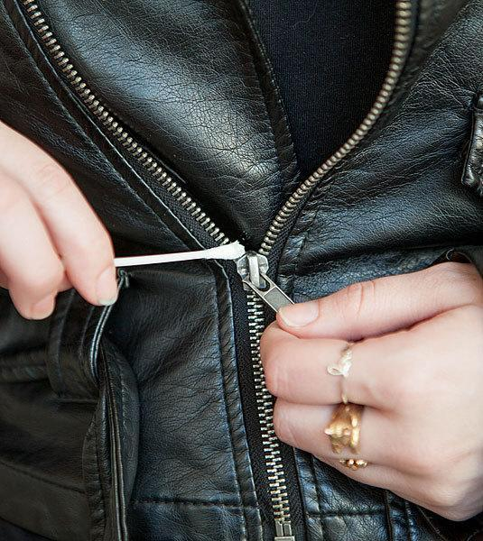 <p>If you've managed to jam a zipper then a cotton bud dipped in olive oil should be just the thing to loosen it. <i>[Photo: Pinterest]</i></p>