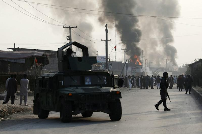 Taliban Clash with Security Forces after Car-bomb Kills At Least 9 People, Injures 63 in Afghanistan
