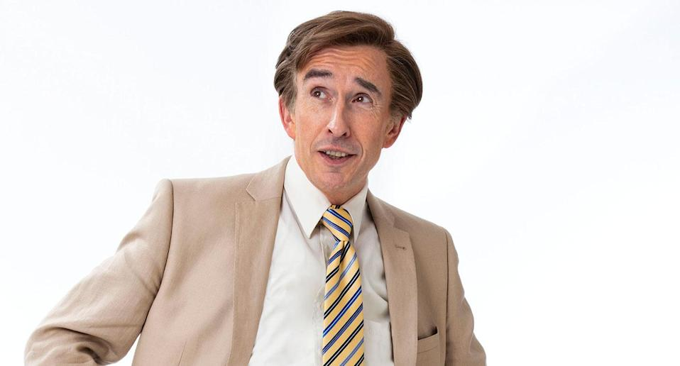 Partridge returns on Monday nights. (BBC Studios/Andy Seymour)