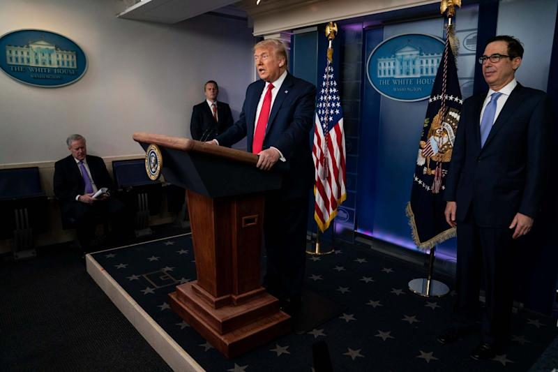 The Government's new White House-style TV briefings will be introduced later this year (AP)