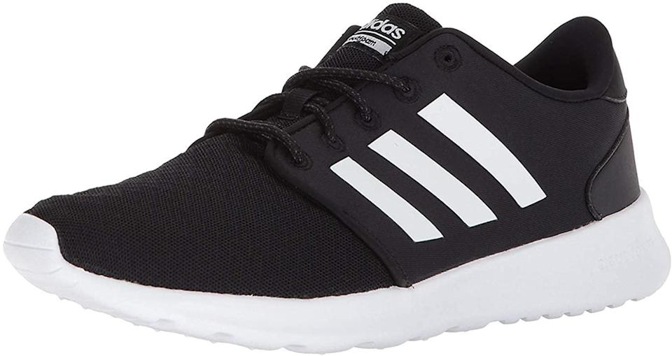 <p>You can't go wrong with these dependable <span>adidas Women's Cloudfoam Qt Racer Sneaker</span> ($50, originally $65). It's perfect for working out or looking stylish in your sweats.</p>