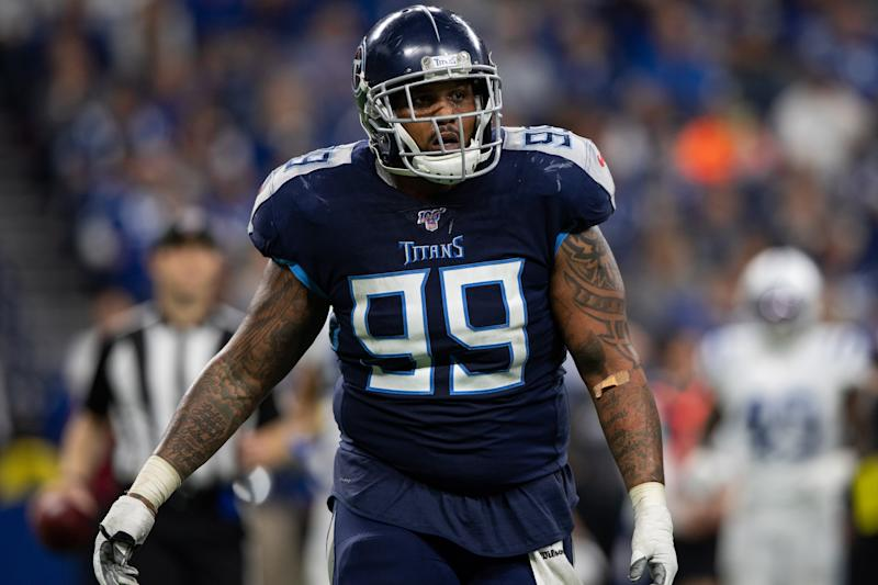 Jurrell Casey is still bitter over the trade that sent him from Tennessee to Denver this offseason. (Zach Bolinger/Icon Sportswire/Getty Images)
