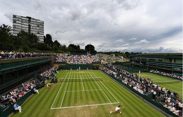Court conditions have been the talk of the tournament at Wimbledon. (Getty Images)