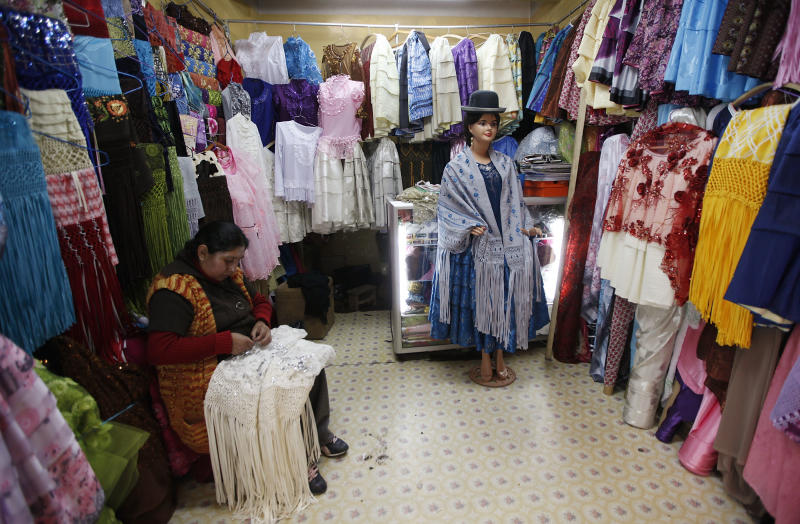 Bolivia's textile trade a globalization casualty