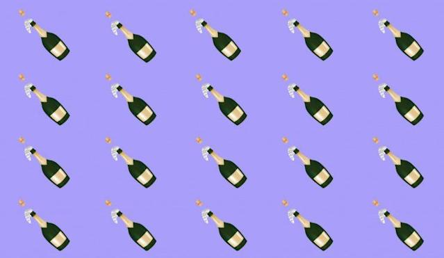 Pop that prosecco [Photo: Yahoo Style UK/Apple]