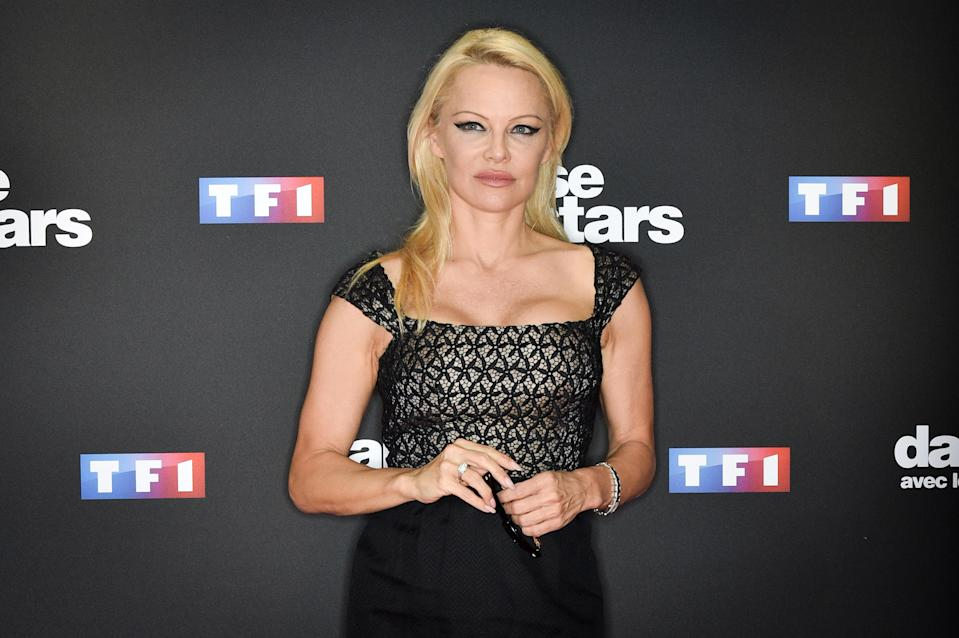 Pamela Anderson, pictured in September, criticizes the #MeToo movement. (Photo: Stephane Cardinale — Corbis/Corbis via Getty Images)