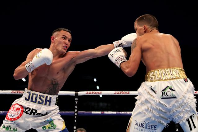 Boxing - Lee Selby vs Josh Warrington - IBF World Featherweight Title - Elland Road, Leeds, Britain - May 19, 2018 Lee Selby in action against Josh Warrington Action Images via Reuters/Peter Cziborra