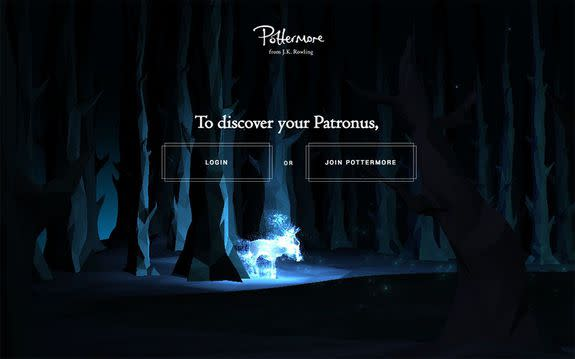 You Can Now Figure Out Your Patronus on Pottermore
