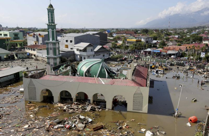 Image result for tsunami in indonesia