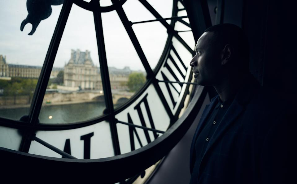 While much of the show was filmed in Paris, like this scene at the Musée d'Orsay, the second half of the first season travels beyond the city's borders.