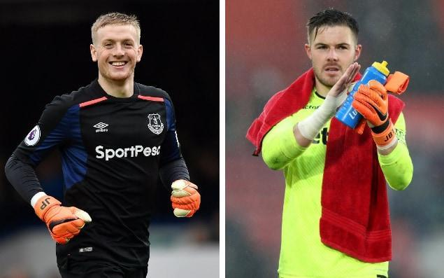"Stoke plays host to the unofficial battle to be the new England No 1 this weekend. Jack Butland and Jordan Pickford's chief priority is securing the points to ease their sides away from the bottom three, but there is an another prize at stake. England manager Gareth Southgate's admission the national keeper jersey is 'up for grabs' is an incentive to the Stoke and Everton stoppers, who have shone in otherwise disappointing campaigns for their clubs. The toils of Joe Hart at West Ham present an opportunity, particularly given Southgate has called up four keepers including Burnley's Nick Pope for the forthcoming international friendlies against Holland and Italy. Pickford's claims are naturally supported by his manager Sam Allardyce. Despite the occasional high-profile error – most notably at Burnley a fortnight ago – mistakes have been rare. The youngster's agility and distribution has been particularly impressive. ""I think that when you talk about consistency he has been our most consistent player,"" said Allardyce. World Cup predictor ""At 23 and coming to as big a club as Everton - and playing to the level he has on a consistent basis - shows that age means nothing for him. He believes in what he is and I think that he grows and gets better from here and certainly benefits from the experience he has had this year by playing every game. ""I don't think he has missed a game, playing at the highest level and making some critical saves in periods when you have needed to get a result. He has been there for us."" Statistically there is little to separate Pickford and Butland this season. Both have conceded 49 times in this campaign, although Pickford, who has played all 30 league games, has played three more league fixtures than Butland. Pope has conceded the fewest, just 26 in 27 appearances for Burnley. Hart has conceded 33 in his 15 Premier League appearances for West Ham. Joe Hart's grip on the England spot looks to be slipping Credit: afp Southgate will have the chance to assess the claims of all four from close quarters next week, but a quality performance at the Bet365 Stadium on Saturday may be the most appropriately timed of the year. ""He made the odd mistake like every keeper does but they have been few and far between,"" added Allardyce on Pickford. ""I rate his chances very highly in terms of his England career. Whether that is enough to get Gareth to choose him as his No 1 only time will tell, but certainly in terms of what he has done this year compared to the people he is competing against he has played every single game and played exceptionally well."""