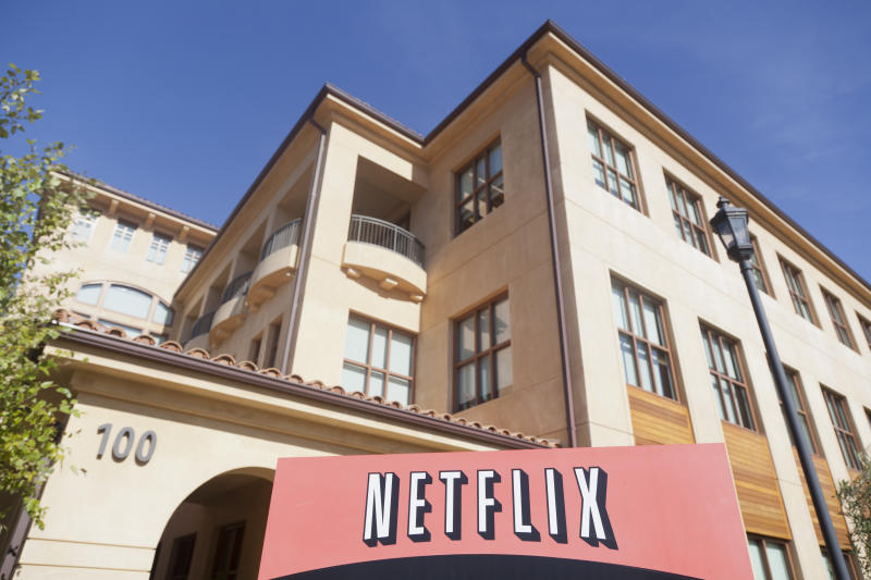 Netflix HQ in Los Gatos, California, US. Photo: Getty