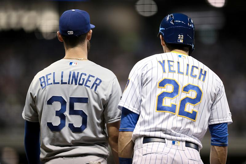 Image result for christian yelich and cody bellinger