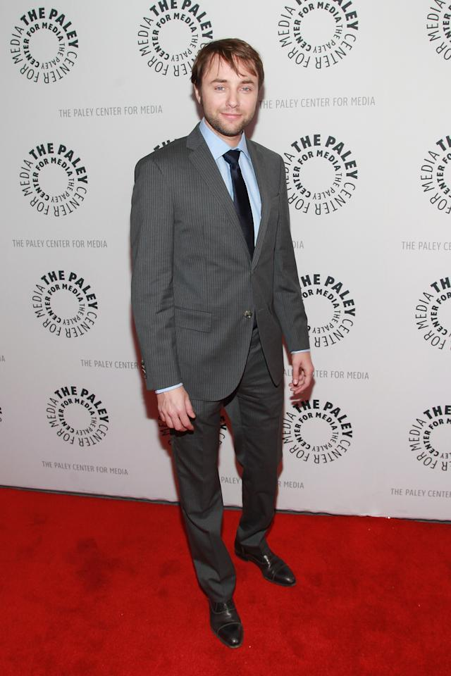 """NEW YORK, NY - APRIL 23:  Actor Vincent Kartheiser attends The Paley Center For Media Presents: """"Mad Men"""" Season 5 at The Paley Center for Media on April 23, 2013 in New York City.  (Photo by Taylor Hill/Getty Images)"""