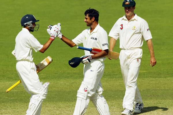 India's first ever Test win in Australia is credited to Rahul Dravid. In Adelaide in 2003, he scored 233 followed up by 72 in the second innings - in total batting for 835 minutes.