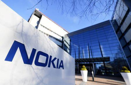 The headquarters of Finnish telecommunication network company Nokia is pictured in Espoo,