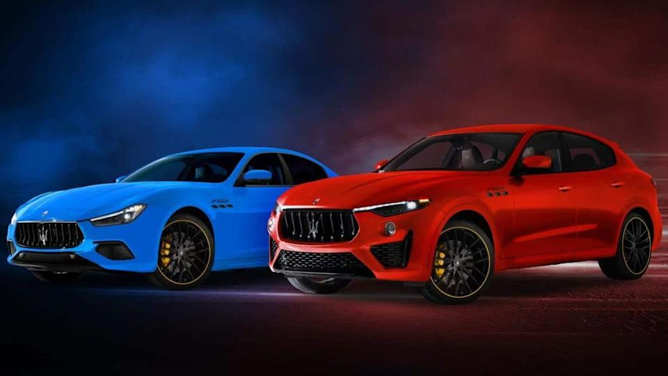 Maserati unveils F-Tributo Edition of its Ghibli and Levante cars