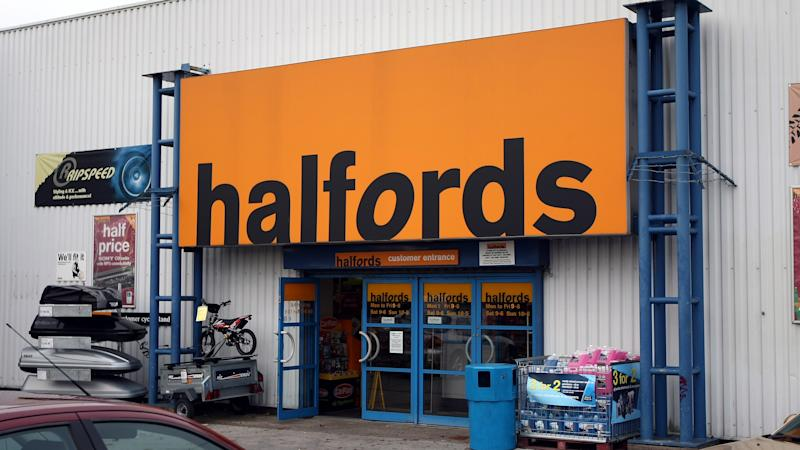 Halfords shares rev up as retailer pledges to keep 'UK moving'