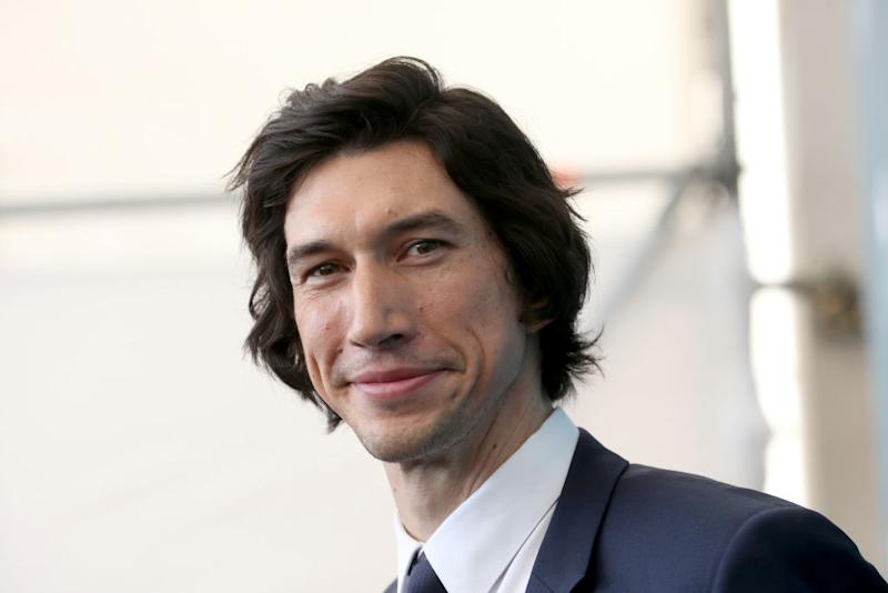 Adam Driver photographed at the Venice Film Festival on Aug. 29. (Photo: Franco Origlia/Getty Images)