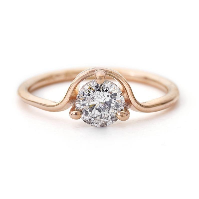 """<p>If they really want something original, the salt and pepper diamond on the <a href=""""https://www.popsugar.com/buy/18k-Rose-Gold-Gray-Diamond-Engagement-Ring-531244?p_name=18k%20Rose%20Gold%20Gray%20Diamond%20Engagement%20Ring&retailer=etsy.com&pid=531244&price=3%2C360&evar1=fab%3Aus&evar9=44555978&evar98=https%3A%2F%2Fwww.popsugar.com%2Fphoto-gallery%2F44555978%2Fimage%2F47011793%2F18k-Rose-Gold-Gray-Diamond-Engagement-Ring&list1=wedding%2Cjewelry%2Crose%20gold%2Cengagement%20rings&prop13=api&pdata=1"""" rel=""""nofollow noopener"""" class=""""link rapid-noclick-resp"""" target=""""_blank"""" data-ylk=""""slk:18k Rose Gold Gray Diamond Engagement Ring"""">18k Rose Gold Gray Diamond Engagement Ring</a> ($3,360) is just that.</p>"""