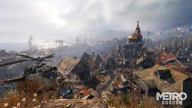 'Metro Exodus' returns to Russia's post-apocalyptic wastes in 2018.