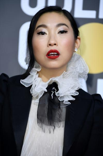 """The Farewell"" star Awkwafina has been invited to join Hollywood's Academy of Motion Picture Arts and Sciences (AFP Photo/VALERIE MACON)"