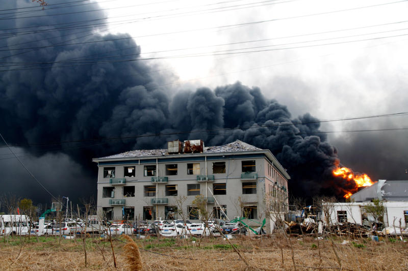 Death toll rises to 62 in China chemical plant blast