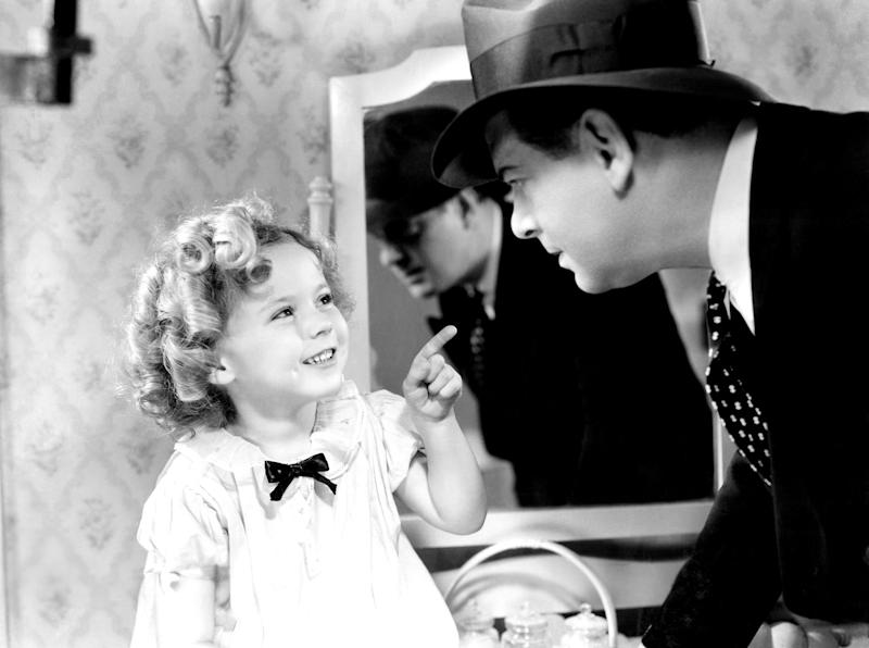 Shirley Temple in 1934's 'Baby Take a Bow'