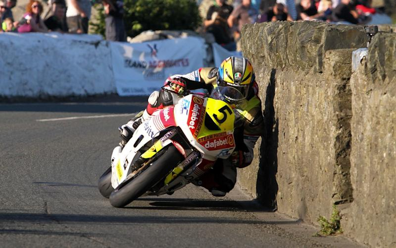 Any rider who races on the Isle of Man is brave indeed, but Lintin's two victories set him apart - CJSPhotography